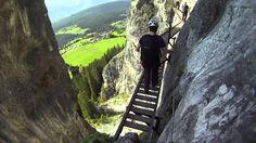 Pinut - Via Ferrata, Flims, Switzerland
