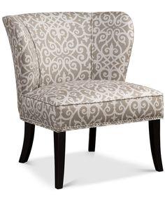 JLA Janie Armless Accent Chair Direct Ship