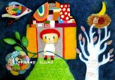 birds come at night by mayuko