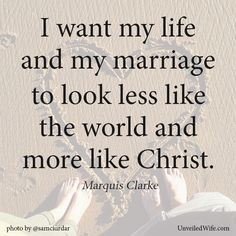 like the marriage between Christ and the Church
