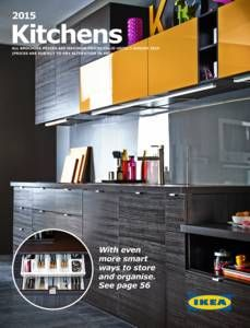 ikea brochure with great ideas and styling for kitchens