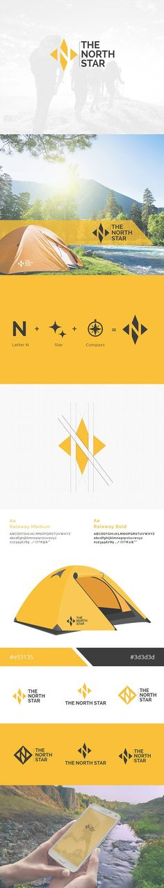 The North Star on Behance