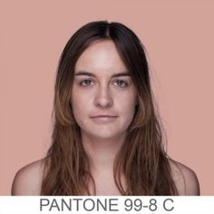 For her latest project, Brazil based designer Angelica Dass is in the process of compiling a skin color chart of human skin tones using the Pantone color scheme. http://blog.howdesign.com/designers/human-skin-tone-scale-pantone-edition/