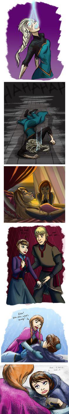 PROPOSED Frozen sequel scenes by mizzizabellaSMS on deviantART // I LOVE IT