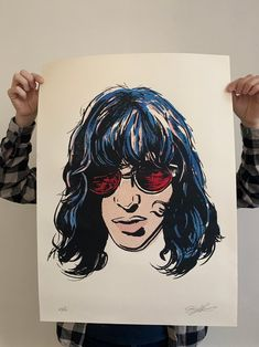 Joey Ramone, Ramones, Punk Rock, Band Posters, Music Posters, The Strokes, The Black Keys, Eddie Vedder, Radiohead