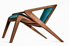 Buy online Portuguese roots lounge chair By aroundthetree, solid wood lounge chair with armrests design Alexandre Caldas, portuguese roots Collection