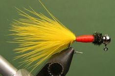 1 x yellow para post synthetic fibres 20 cm montage fly tying flies yellow