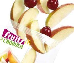 #McDonald's France Fruit Bag   #mcdonalds