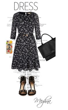 """""""Fall"""" by meghna2014 ❤ liked on Polyvore featuring Yumi, Gianvito Rossi, Givenchy, Casetify and longsleevedress"""