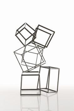 ARTERIORS Home Mondrian Iron Sculpture