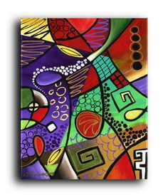 Gallery Canvas and Fine Art Prints Colorful от NYoriginalpaintings