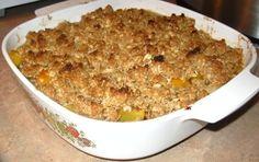 The Best Ever Fruit Crisp Topping