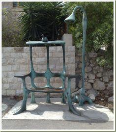 Bus-Stop in Yemin Orde, Israel
