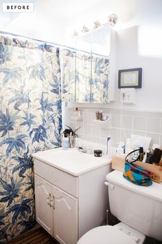It's easy to get out of bed when you have this transformed bathroom waiting for you