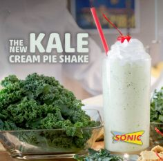 Sonic's Kale Cream P