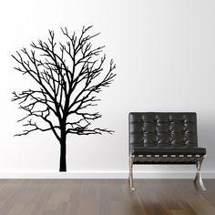 Køb Træ silhuet wallstickeren - fra kun 199 ★ Markedets bedste kvalitet ★ Egen produktion ★ 30 dages returret ★ Hurtig levering ★