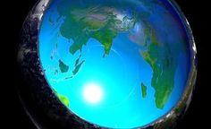A Fantástica Teoria da Terra Oca em 10 Minutos!! A Existência de um Sol no interior da Terra?