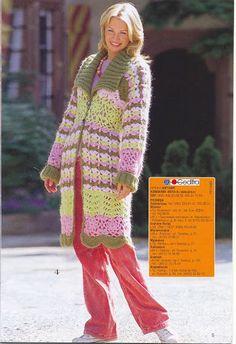 casacos de croche - Rosana Kiihl - Álbumes web de Picasa