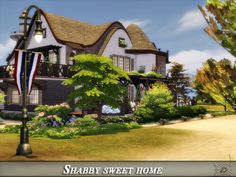 Shabby sweet home by Danuta720 from TSR for The Sims 4