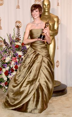 Hilary Swank from 50 Years of Oscar Dresses: Best Actress Winners From 1954 - 2014 | E! Online