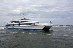 ms Tiger is de grootste snelboot en vaart tussen Harlingen-Vlieland-Terschelling.