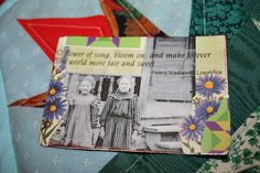 O' Flower of Song ATC by DianthusMoon, via Flickr