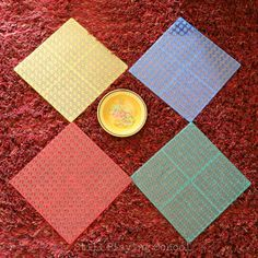 Duplo Lego Geoboards | Still Playing School