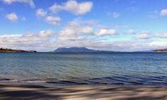 Orford on the East Coast of Tasmania