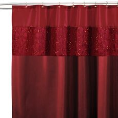 Maria Red 72 X Shower Curtain