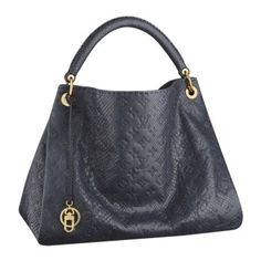 70473e17f604 louis vuitton Artsy MM Shoulder Bags And Totes Navy Leather N90300  230.99  Real Louis Vuitton