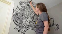 Resultado de imagem para desenho para parede