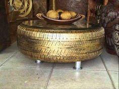 Formas originales de reciclar neumáticos
