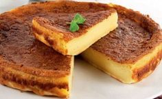 Bake your favorite treats with our many sweet recipes and baking ideas for desserts, cupcakes, breakfast and more at Cooking Channel. Portuguese Desserts, Portuguese Recipes, Portuguese Food, Portuguese Tarts, Portuguese Sweet Bread, Just Desserts, Delicious Desserts, Dessert Recipes, Gourmet Desserts