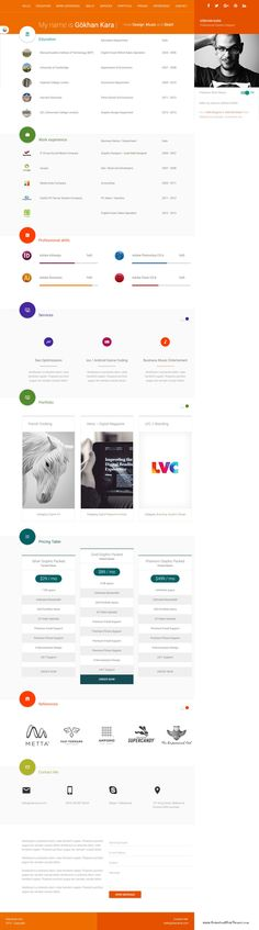 Make A Resume Website  Performance Professional  Like Slot