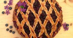 Crostata di mirtilli - tarta de arándanos. null