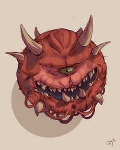 Cacodemon by Deimos-Remus on deviantART