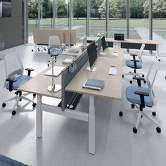DV803 Nobu 10 | Desking Systems | DVO Desk Height, Adjustable Height Desk,
