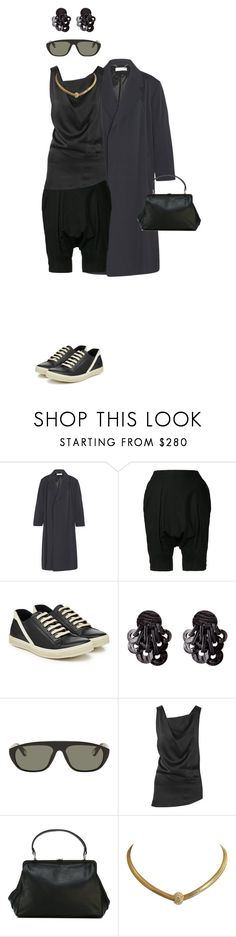 """it won't stop raining"" by opeaits ❤ liked on Polyvore featuring Balenciaga, Yohji Yamamoto, Rick Owens, Ann Demeulemeester and Christian Dior"