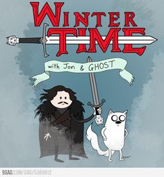 Winter Time with Jon and Ghost