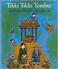 Tikki Tikki Tembo - can say his whole name from memory.  My mom enrolled us in the Children's Book Club when we were little.  So many GREAT books in the series.