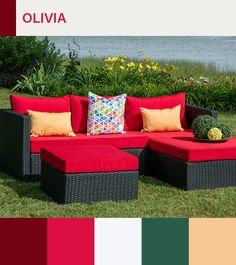 sectionnel olivia compose de 3 morceaux il est fait d une structure d