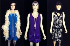 Costume and prop hire for the Bugsy Malone stage show. We have guns, splurge, and costume sets, including suits for hoods and dresses for flappers and showgirls in diffferent age ranges Costume Hire, Costumes, Bugsy Malone, Flapper Costume, Showgirls, Day Dresses, Dress Up, Suits, Color