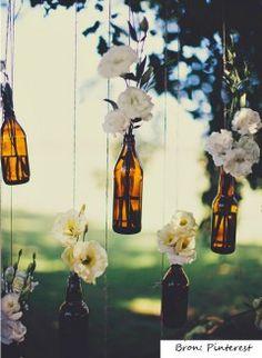 Marvellous Wine Bottle Wedding Decor 7 Wine Bottle Centerpieces You Can Diy For Your Wedding Day Boho Wedding, Wedding Flowers, Dream Wedding, Wedding Day, Wedding Blog, Budget Wedding, Party Wedding, Wedding Reception, Crafty Wedding Ideas