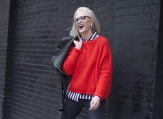 Casual Valentine's Look in Malene Birger Cashmere