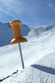 Giant pin in the Austrian mountains YOUR Calgary marketing agency http://arcreactions.com/dont-get-seo-blindsided/