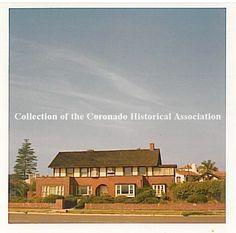 PERCIVAL THOMPSON HOME / BUILT 1911 / IRVING J. GILL - ARCHITECT