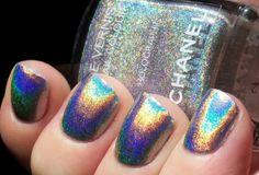 holographic Chanel polish