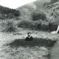 keith arnatt - self-burial (television interference project),...