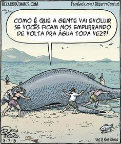 Parem de atrapalhar a evolução.