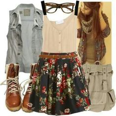 Hipster outfit